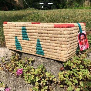 NWT Ten by Three fair trade blessing basket